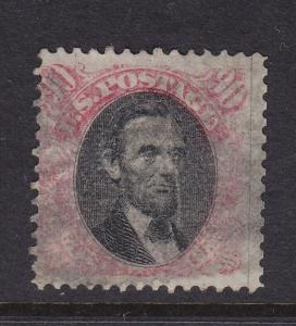 122 F-VF used neat cancel with nice color cv $ 1900 ! see pic !