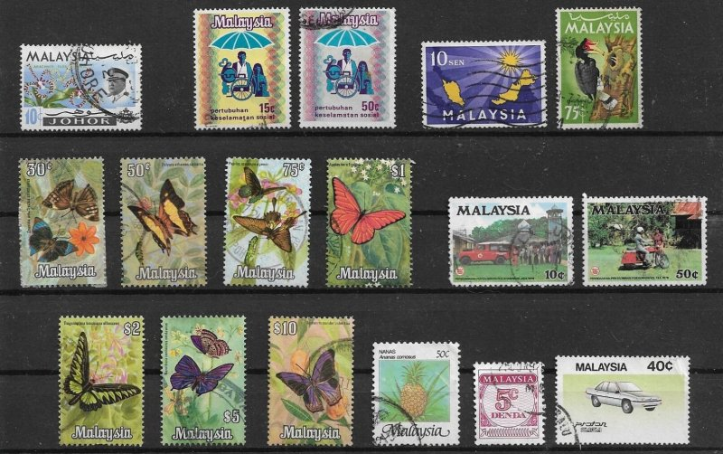 Malaysia - used Lot collection