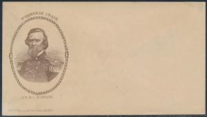 #PNM-147a GEN. BONHAM UNION CIVIL WAR PATRIOTIC MAGNUS COVER BS7188