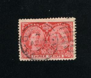 Canada #53  -1  used     PD