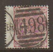 Great Britain #61 Plate#18 used