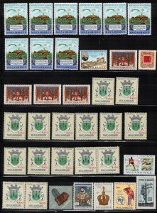MOZAMBIQUE Selection Of MNH Stamps - With Duplication