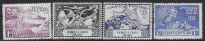 Gilbert & Ellice 56-59   1949  set  4   FVF Used