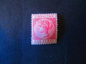 Gibraltar #10 Mint Hinged - (AZ3) WDWPhilatelic!