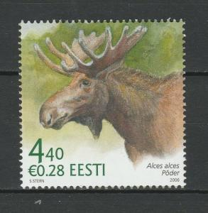Estonia 2006 Fauna, Animals, Moose MNH Stamp
