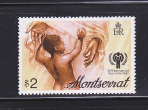 Montserrat 405 Set MNH IYC
