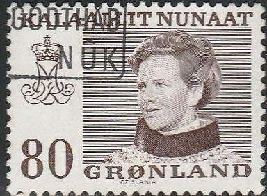 Greenland, #89 Used From 1973-79