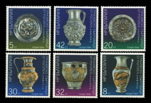 Bulgaria Scott 3239-3244 Mint never hinged.