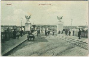 57723 -  SWITZERLAND -  Vintage Postcard - Basel-Stadt: BASEL  1906