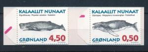 [48087] Greenland 1996 Marine life Whales MNH Booklet