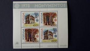 Europa CEPT - Portugal 1978. ** MNH Block
