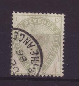 1883 GB 5d Dull Green Fine Used SG193