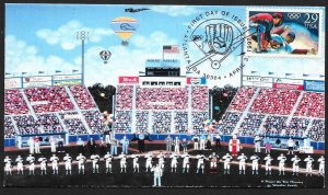UNITED STATES FDC 29¢ Olympic Baseball 1992 S&T