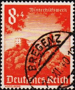 Germany. 1940 8pf+4pf  S.G.743 Fine Used