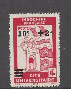 Indo-China, B22, Surcharged Single, **LH**