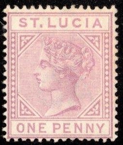 Saint Lucia Scott 29 Unused no gum.