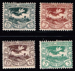 GERMANY STAMP PLEBISCITE Upper Silesia MINT STAMPS LOT  1920