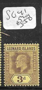 LEEWARD ISLANDS  (PP0105B) KE  3D  SG 41  MOG