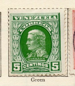 Venezuela 1911 Early Issue Fine Mint Hinged 5c. NW-114548
