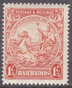 Barbados Sc #168 MH; Mi #137