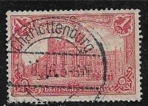 Germany Mi. #94 A I / Sc. #92  used L75