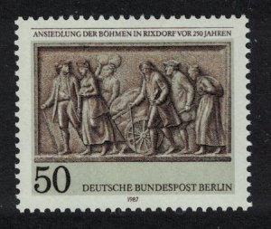 Berlin 250th Anniversary of Bohemian Settlement Rixdorf 1v SG#B769