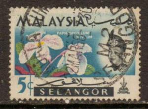 Malaya-Selangor  #123  used  (1965)