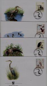 Croatia 545 FDC WWF-04/Birds