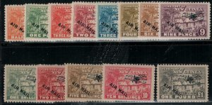 New Guinea 1931 SC C1-C13 Mint Set SCV$312