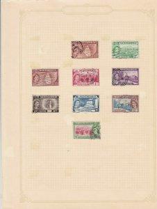 montserrat stamps sheet ref 17785