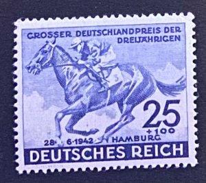 Germany 1942 #B204 Mi 814 MNH Mint Never Hinged OG