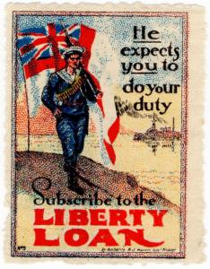 (I.B) Australia Cinderella : Liberty Loan (Do Your Duty)