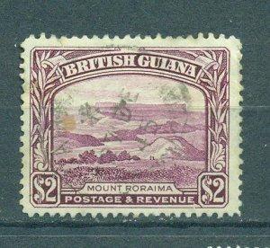 British Guiana sc# 240 used cat value $27.50