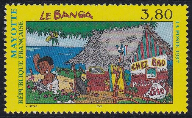 Mayotte 87 MNH (1997)