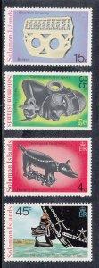 Solomon Islands Scott #312-315 MNH