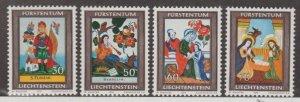 Liechtenstein Scott #560-563 Stamps - Mint NH Set