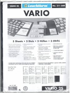 Lighthouse Vario 2S Stock Pages #311049 Ret $5.85