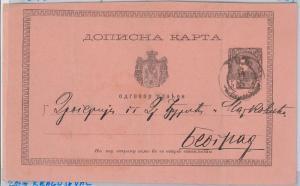 SERBIA Србија Srbija-  POSTAL HISTORY - POSTAL STATIONERY CARD