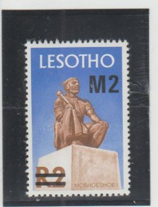 Lesotho  Scott#  312  MNH  (1980 Surcharged)