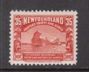 Newfoundland #73 Very Fine Mint Original Gum Hinged