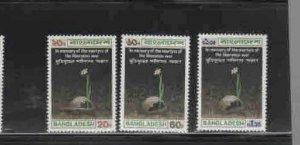 BANGLADESH #39-41  1973  MARTYRS   MINT VF NH  O.G  a