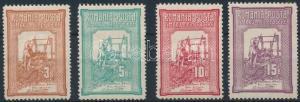 Romania stamp Prosperity (II) set (Mi 168 thin paper) Hinged 1906 WS233480