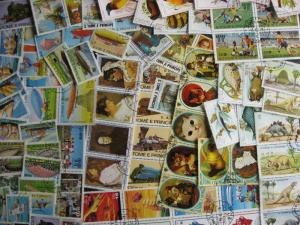 ST THOMAS & PRINCE,SAO TOME & PRINCIPE 89 different U stamps all in topical sets