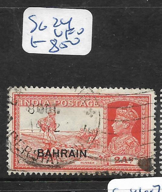 BAHRAIN (P1905BB)  KGVI ON INDIA  2A  SG 24  VFU