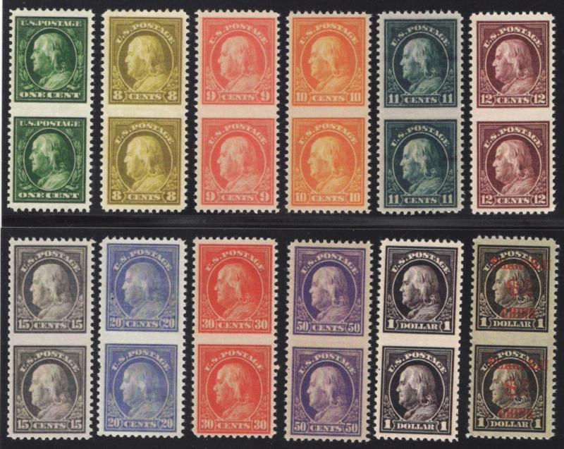 Small Collection of Franklin Fakes/Forgeries - Group of 12 - Multicolored