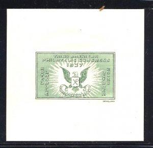 Philatelic Cinderella Third American Phil .Congress APC Chicago 1937 Grimsland