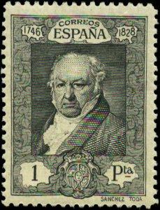 Spain Scott #396 Mint Hinged