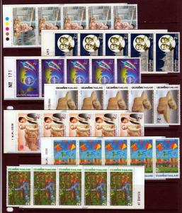 #970//B55 Complete Thailand Booklet group (Mint NEVER HINGED) cv$1,293.00