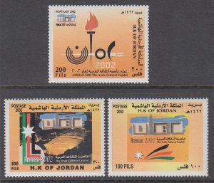 Jordan 1745-1747 MNH VF