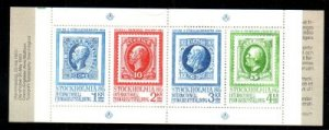 Sweden Sc 1465a 1983 STOCKHOLMIA 86 stamp booklet mint NH